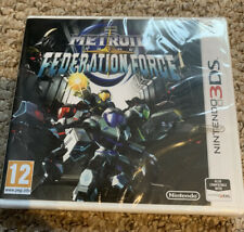 Metroid Prime Federation Force Nintendo 3DS Brand New And Sealed