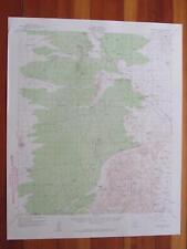 Tortolita Mountains Arizona 1960 Original Vintage USGS Topo Map