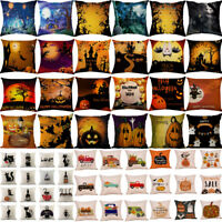 Halloween Home Decor Office Car Pillow Case Cushion Square Throw Pillow Cover UK