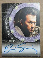 Stargate SG-1 Autograph Card - A98  Eric Steinberg  (Netan)