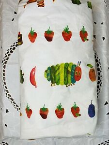 POTTERY BARN KIDS Eric Carle Very Hungry Caterpillar Nursery Crib Fitted Sheet