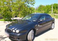 For Jaguar X-type 2001-2010 Wide Window Visors Side Guard Vent Deflectors