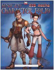bESM d20 - d20 mecha - CHARACTER FOLIO - anime character sheet - NEW