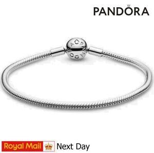 Pandora Pave Moments Sterling Silver Charms Bracelet Brand New Ale S925 Clasps