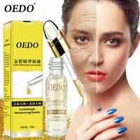 OEDO Shrink Pores Anti Aging Anti Wrinkle Gold Hyaluronic Acid liquid Face Serum