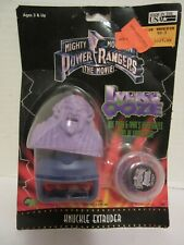 Vintage 1995 Mighty Morphin Power Rangers Movie Ivans Ooze Knuckle Extruder NIP