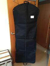 (1) Chanel Authentic VIP New Long Canvas Black Garment Bag Zip - 64 L x 23.5 W