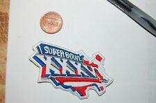 "Super Bowl XXXVI (36) 2 3/4"" St. Louis Rams vs New England Patriots Football"