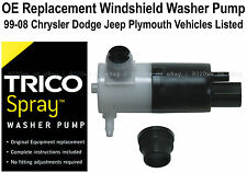 Windshield / Wiper Washer Fluid Pump (a) - Trico Spray 11-526