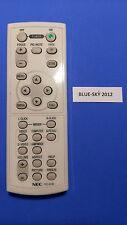 Télécommande d'Origine pour NEC RD-423E LT30, LT25, NP50, VT491, LT35, NP40 NP60