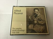 Alfred Piccaver - The Complete Electric Recordings (1928-1930) 2 CD 2009 MINT