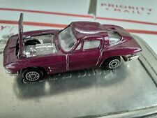 Zee toys  Diecast  '63 Corvette split window  P364 HOT wheels matchbox corvette
