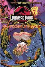 Jurassic Park 7: Raptors Attack!-ExLibrary