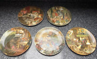 Vintage Set Of 9 Wedgewood Wind In The Willows Plates Collectible