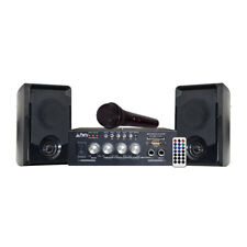 Party Light & Sound Karaoke Set with USB, SD & Bluetooth