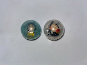 Disney Princess Squinkies Snow White & Wicked Witch Queen Mini Figures #8!