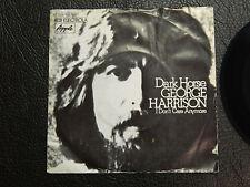 "GEORGE HARRISON DARK HORSE 7"" SINGLE EMI APPLE GERMANY THE BEATLES"
