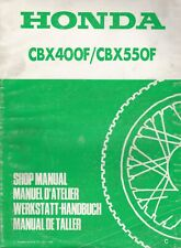 Honda CBX400F & CBX550F 1982 Extended Shop Manual