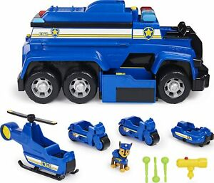 Paw Patrol, Chase's 5-in-1 Ultimate Cruiser with Lights and Sounds NEW  6058318