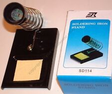 Lot10 Solder/Soldering Iron Stand/Station+sponge tray