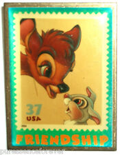USPS The Art of Disney Stamps: Friendship Bambi & Thumper Pin