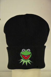Kermit The Frog Muppets Beanie  Lots Of Colours - Cotton Custom Hat