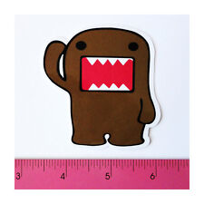 Skateboard Luggage Laptop Phone Vinyl Decal Sticker - Brown Big Mouth Cartoon