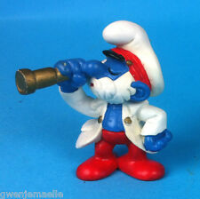 -SCHTROUMPF CAPITAINE  20141  GERMANY CE   SMURF PUFFI PITUFO  SCHLEICH FIGURINE