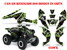 Amr racing decoración kit ATV can-am Renegade, DS 250, DS 450, DS 650 Guns glock B