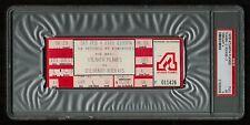 PSA 5 COLORADO ROCKIES 1978 Unused NHL Hockey Ticket at The Omni in Atlanta