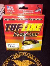 Tuf Line DuraCast 24lb green dura cast Braided Fishing Line Braid