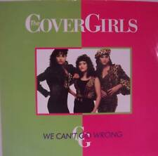 """COVER GIRLS - We Cant Go Wrong~ 12"""" Single PS"""