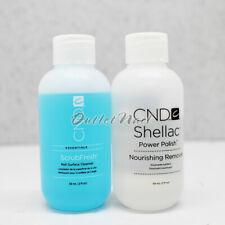 CND Shellac 2pc Set Kit Nourishing Remover 2oz +ScrubFresh 2oz/59ml