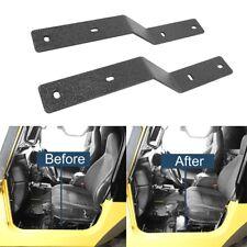 Passenger/Driver Side Seat Adapter Bracket Fit for Jeep Wrangler TJ 97-06 2 DR