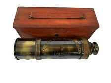 KING EDWARD VII born 1941 DEDICATED BRASS RETRO TELESCOPE SHIPS FROM MELBOURNE