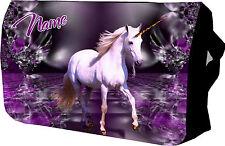 Purple Unicorn / Horse  School / College / Messenger / Sholder / Laptop Bag
