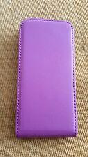 Caseit Viola/Rosa Flip iPhone 5/5S Custodia Cover-Nuovo di Zecca