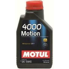 Aceites de motor Motul 15W40 para vehículos