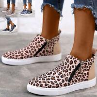 Damen Sneaker Turnschuhe HIGH TOP Sportschuhe Canvas Schuhe Freizeitschuhe