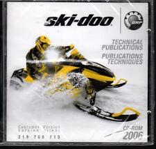 2006 SKI-DOO SNOWMOBILE TECHNICAL PUBLICATIONS MANUAL CD-ROM NEW 219 700 713
