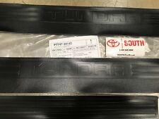 2012-2020 Toyota Tundra Double Cab Door Sill Protectors  Genuine OEM PT747-34143