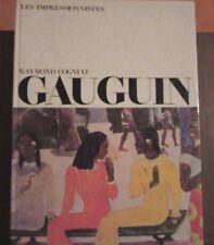 PAUL GAUGUIN/ DANIEL WILDENSTEIN DE L´INSTITUT DE FRANCE, RAYMOND COGNIAT