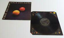 Wings Venus And Mars Vinyl LP + Inner Sleeve - VG+