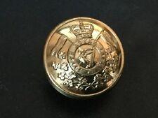 5th Royal Irish Lancers Gilt Tunic Button . 26mm.  Gaunt, London