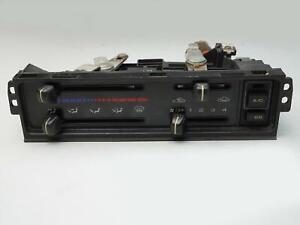 1988 - 1991 MAZDA 626 HEATER AC CLIMATE AIR TEMPERATURE CONTROL PANEL UNIT OEM