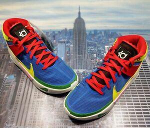 Nike Kevin Durant KD 13 NY vs NY Sail/Lemon Venom-Royal Size 10 DA4318 100 New