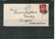 Briefmarken aus dem deutschen Reich (1924-1932) als Einzelmarke mit Bedarfsbrief-Erhaltungszustand