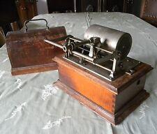 2 Minuten Phonograph Walzenspieler PATHÉ FRÈRE INTER SALON motor ok-motor works