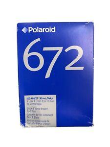 Polaroid 672 ISO 400 Polapan Pro 400 instant pack film 20 Exp 3/2006