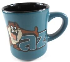 Exclusive Warner Bros Store Design TAZ Tasmanian Devil Teal Coffee Cup Mug
